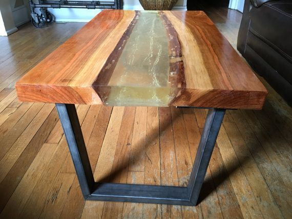 Live Edge River Table Tables Glass Kitchen Tables