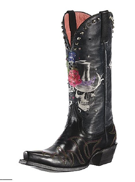 Skull Cowboy Boots Great On The Bike ᙢiᎧ BᎧᎧƭi F 252 L