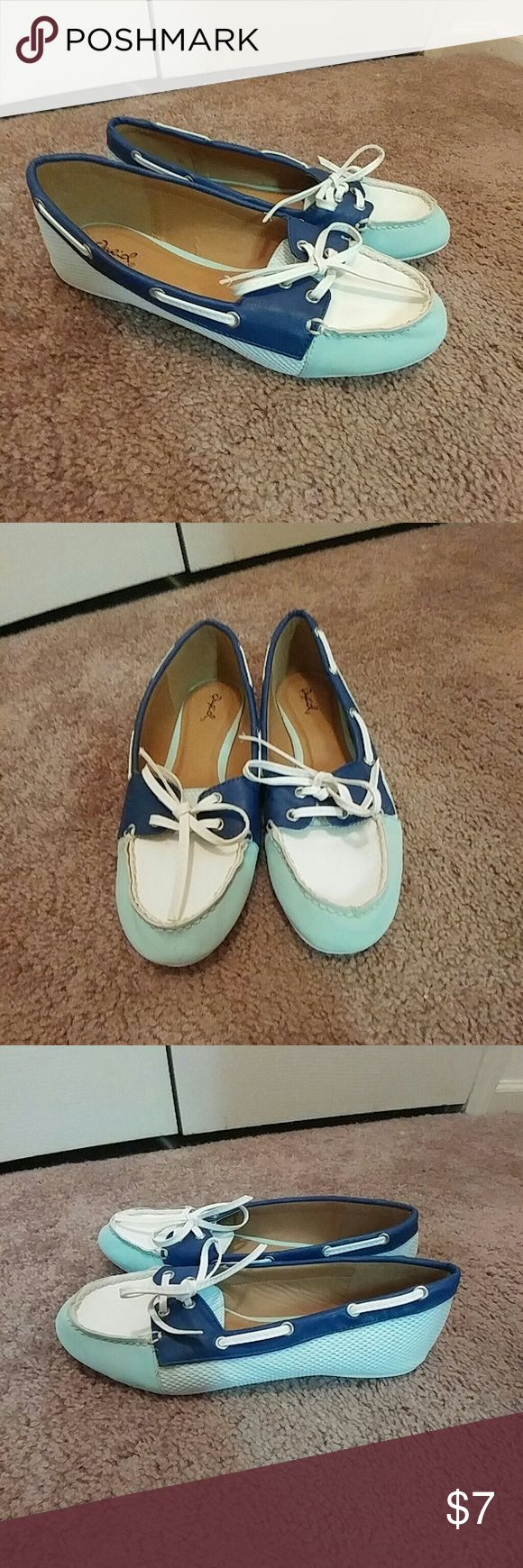 🎉SALE🎉 NWOT Shoes Never worn! Adorable Sperry style shoes (these are not Sperrys)  🎉🎉SALE🎉🎉 Buy 2 for $10 OR 3 for $13!!  Check out my closet and look for original post for details on this huge sale!! Qupid Shoes