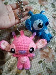 Angel Stitch Keychain – Free Amigurumi Pattern here: duchessgala.blogs…