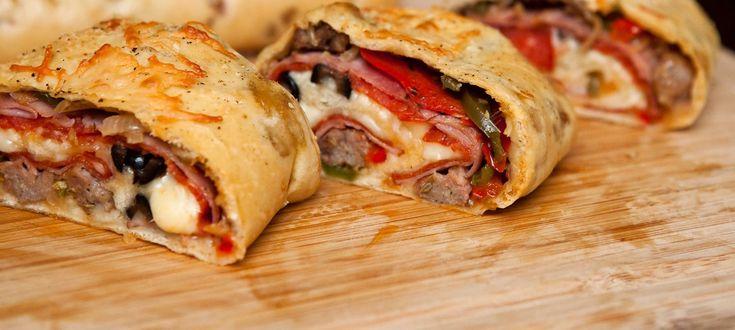 nemusíte robiť len klasickú pizzu..pripravte si Calzone-Stromboli...