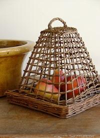 Willow Cloche плетение из газет