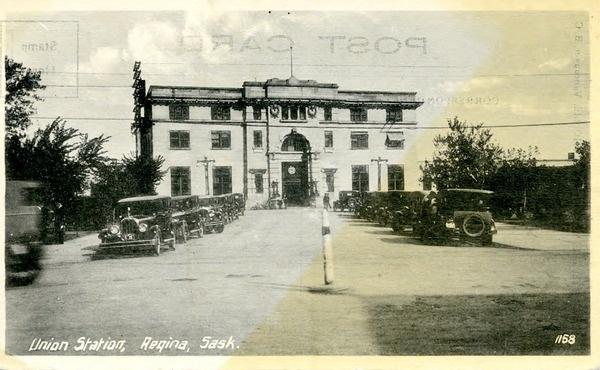 Union station, Regina, Saskatchewan   saskhistoryonline.ca