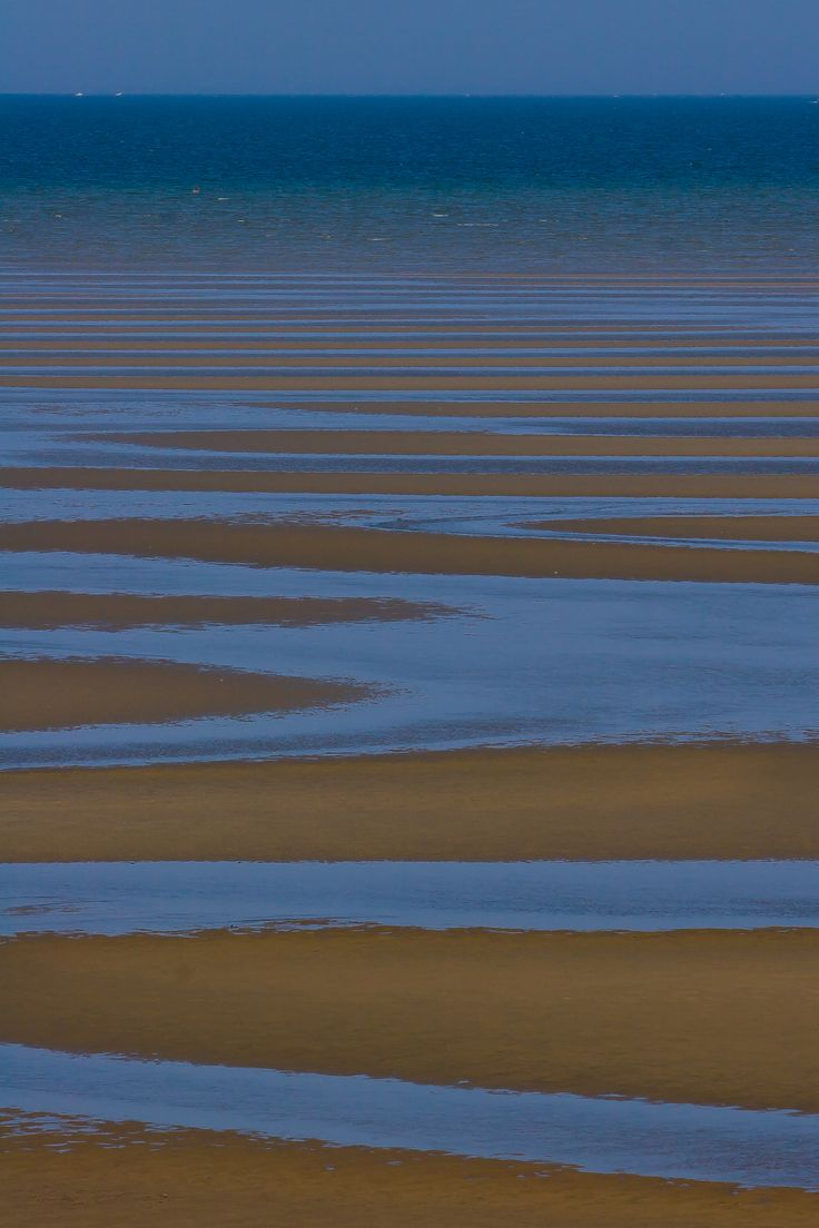 Cape Cod Bay at low tide, Eastham, MA