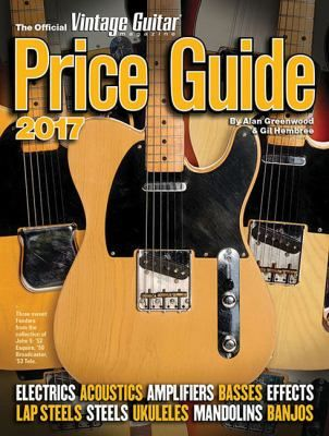 The Official Vintage Guitar Magazine Price Guide is the world's leading reference on the values of vintage and collectible instruments. Compiled using critical research and analysis, it appraises electric and acoustic guitars, amps, basses, effects, mandolins, steels and lap steels, ukuleles, and even banjos! With information on more than 2,000 brands along with 1,300 photos and more than 192,000 copies sold, The Guide remains the industry's hands-down leading source of pricing information.