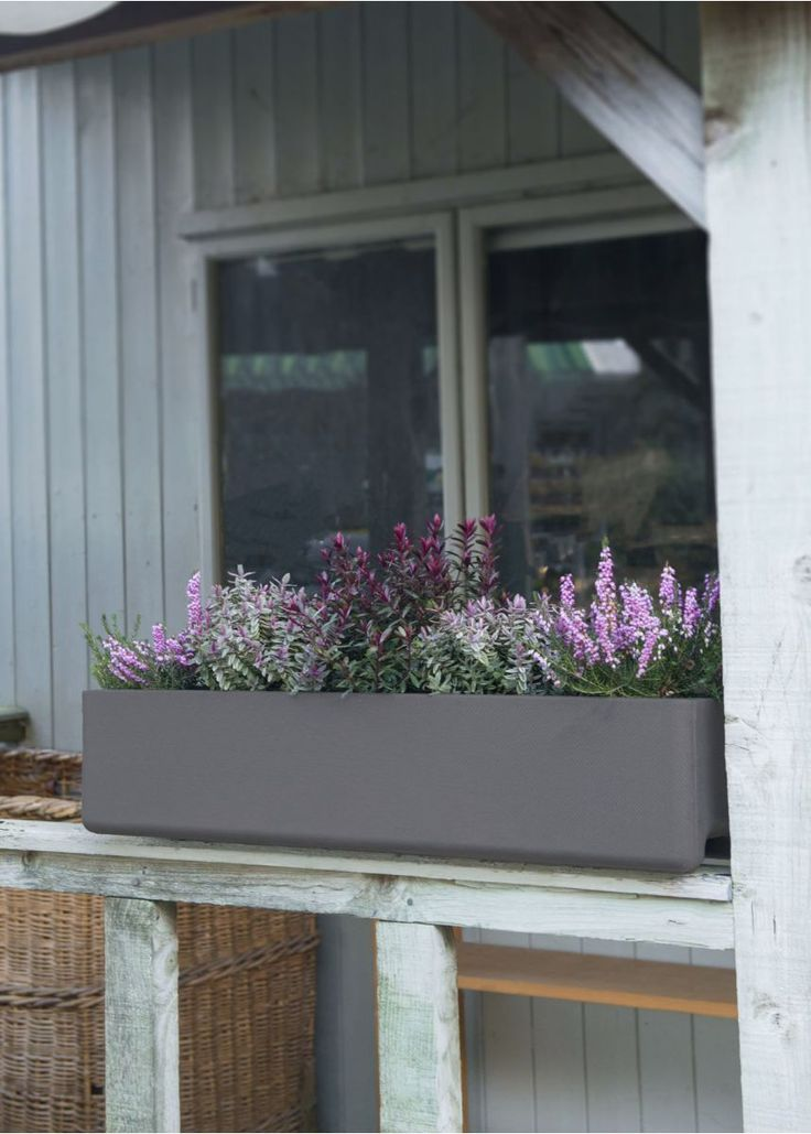 Our narrow Balconia planter is ideal for windowsills, patios, decks and terraces