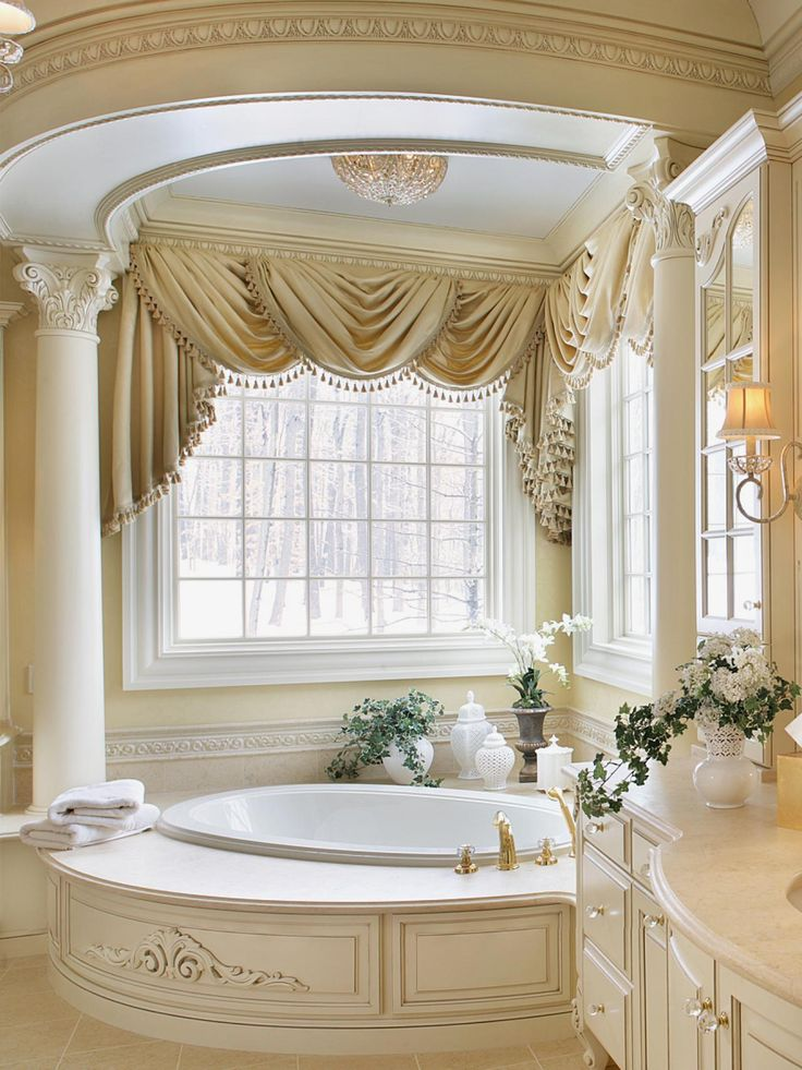 Best Window Treatments Images On Pinterest Window Coverings - Large bathroom window treatment ideas for bathroom decor ideas