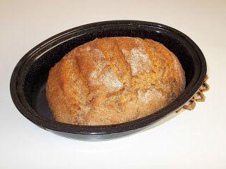 Οι συνταγές του Δίας!Dias recipes!: Ψωμί Ολικής Αλέσεως,Χωρίς Ζύμωμα στην Γάστρα No Kn...