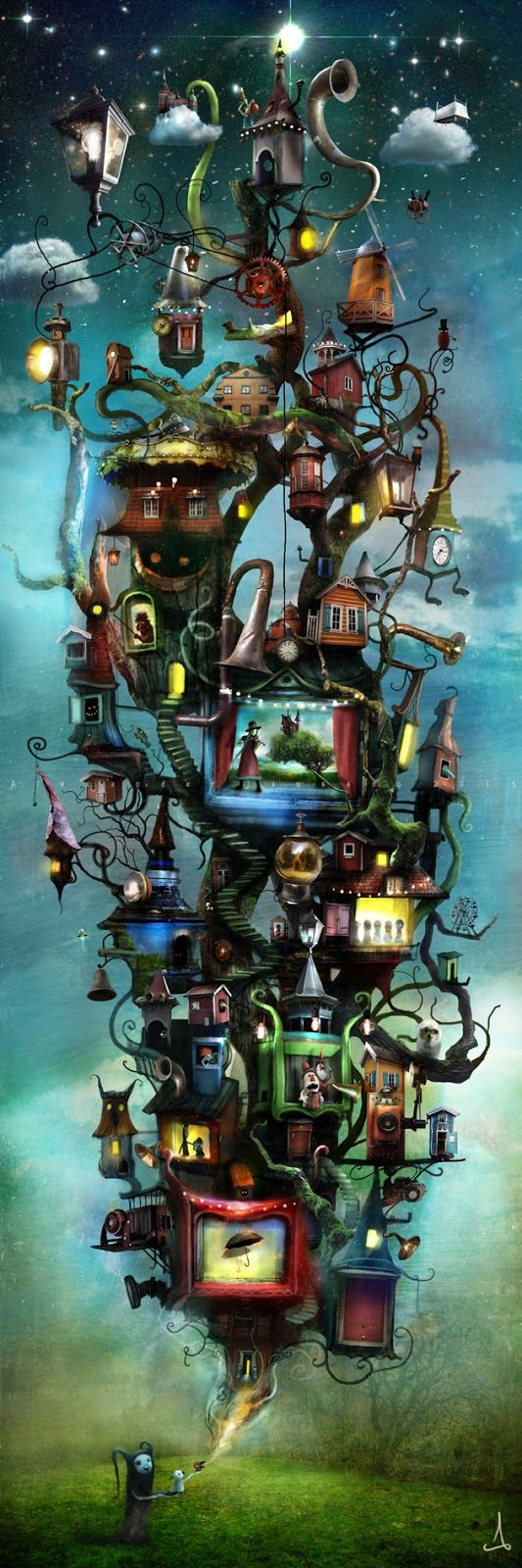 alexander jansson: Illustrations