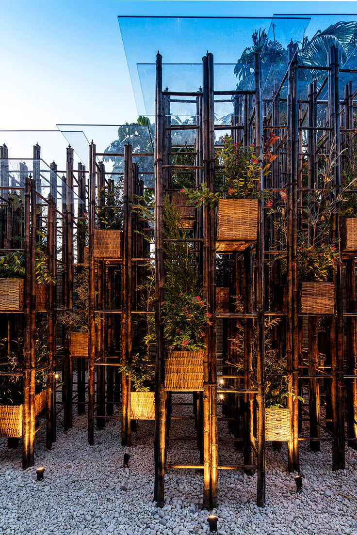 Vo Trong Nghia uses bamboo for this pavilion at Sydney's SCAF gallery