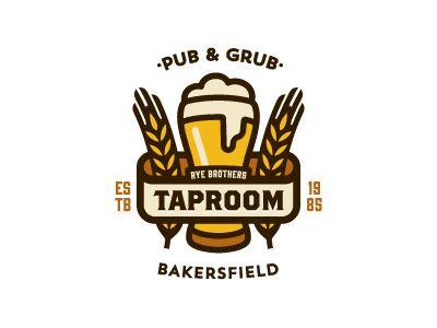 Logo / beer / Rye Brothers Taproom by Sergio Malashenko