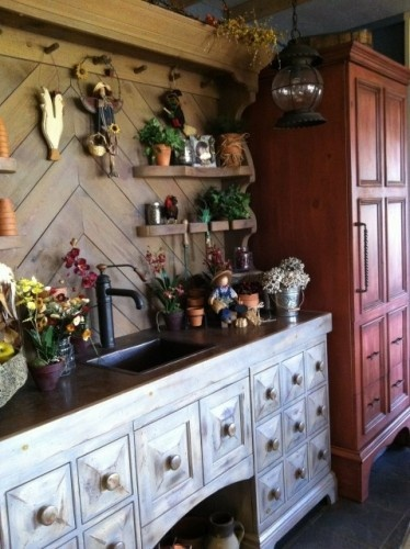potting benches: Garden Sheds, Ideas, Dream, Potting Sheds, Potting Benches, Laundry Rooms, Kitchen, Room Design, Photo