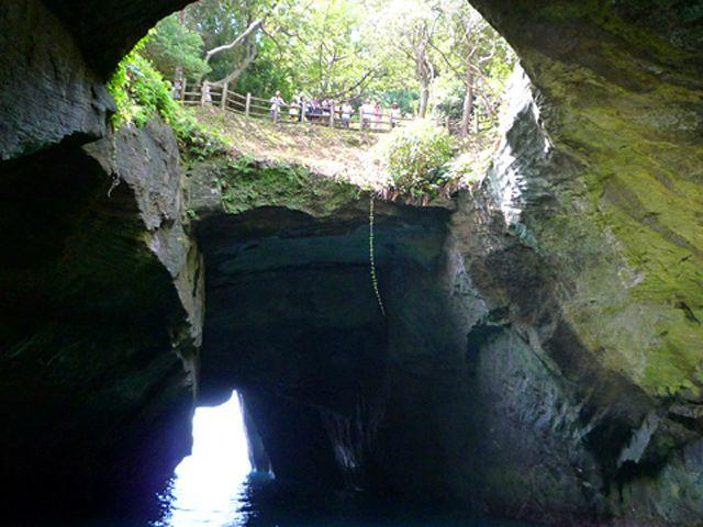 堂ヶ島洞くつめぐり
