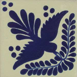 Mexican Tile.  This pattern was used often in bar areas and backsplashes of stoves by A Hays Town, architect