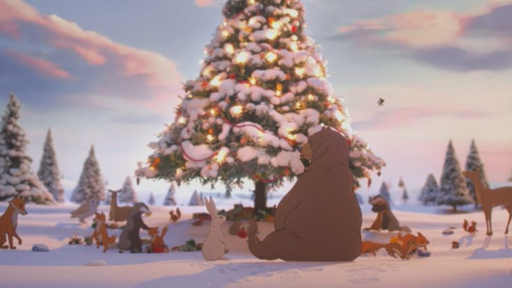 """""""The Bear & the Hare"""" is a heartwarming 2013 Christmas advertisement by John Lewis about a Hare that gives its Bear friend an alarm clock so he doesn't miss out on Christmas by hibernating. The..."""
