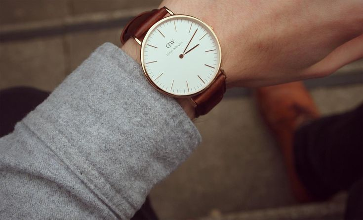 Daniel Wellington Classic Bristol Mens Watch in 40mm Rose Gold ...
