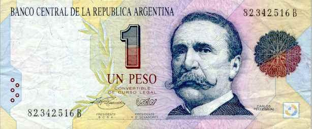 This is an Argentina dollar these are know as pesos. Every 3 pesos is 1 American dollar.