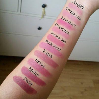 MakeupMadness107ByElina: Mac lipsticks. Nudes.