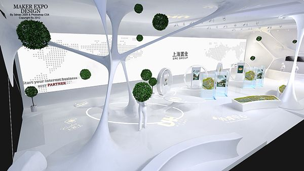 China real estate exhibition 上海置业 2012 on Behance