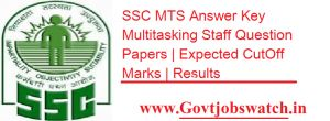 SSC MTS 14th May Exam Answer key 2017 Question paper Solution Download - ssc.nic.in, SSC MTS 14th May Exam paper Solution pdf, MTS Exam 14th May Answer key