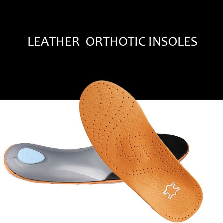Brand 3D Premium Leather orthotics Flat Foot Insole Arch Support Orthotic Silicone Insole  antibacterial active carbon   045 #>=#>=#>=#>=#> Click on the pin to check out discount price, color, size, shipping, etc. Save and like it!