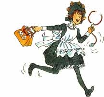 Amelia Bedelia, who does'nt love her!