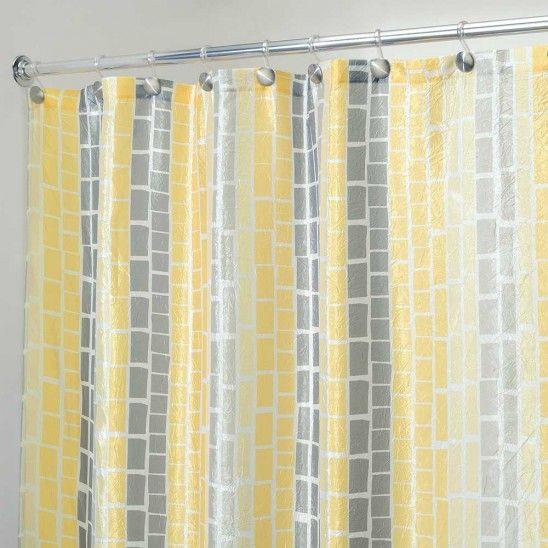 Maxi Fabric Shower Curtain