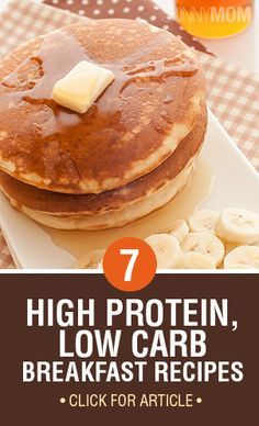 These breakfast recipes are high in protein, but low in carbs!