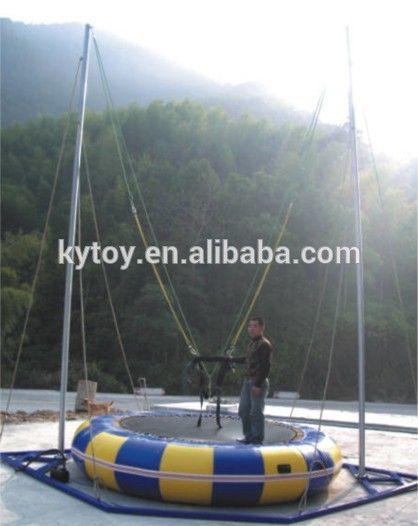 """Hot sale single outdoor bungee trampoline price,bungee trampoline for sale usa"""
