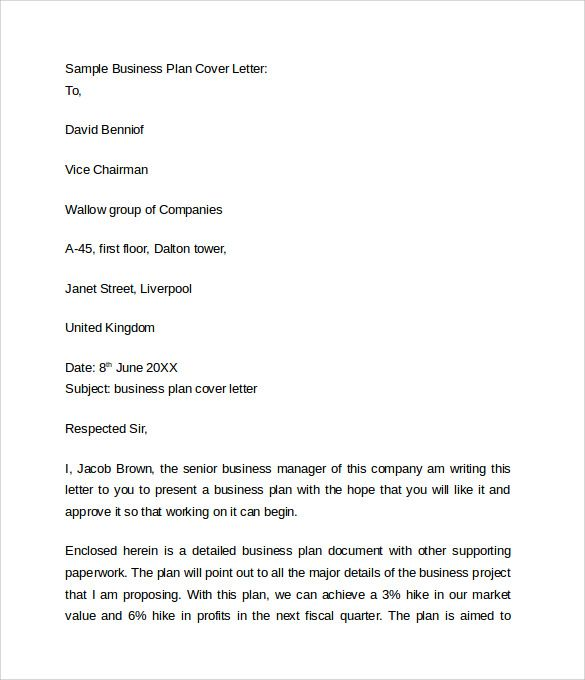 business cover letter free samples examples format example - business proposal cover letter