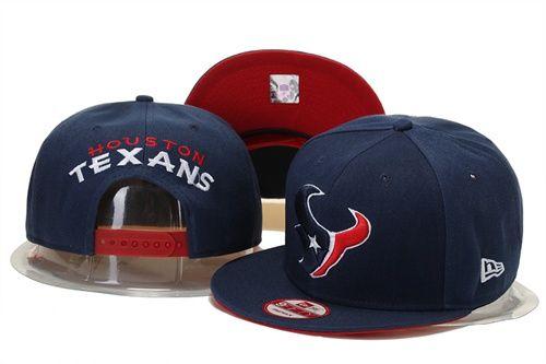 NFL Houston Texans Logo Stitched Snapback Hats 011