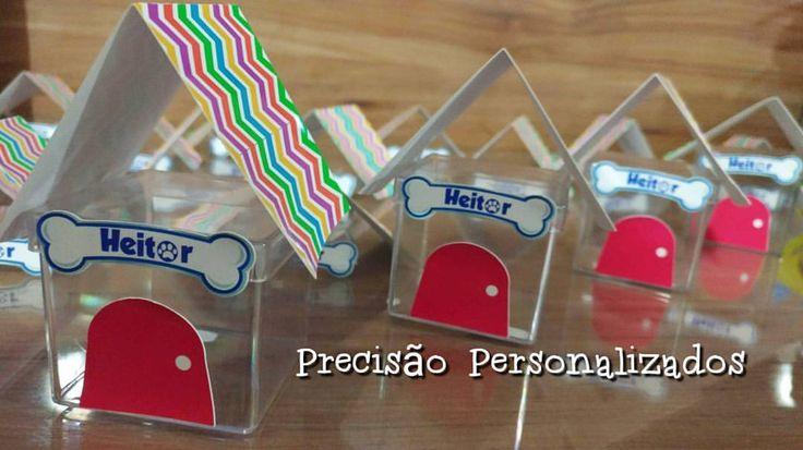 """12 curtidas, 1 comentários - Precisão Personalizados (@precisaopersonalizados) no Instagram: """"Caixa acrilica para gelatina ou guloseimas #personalizados #festainfantil #festa #decoracao…"""""""