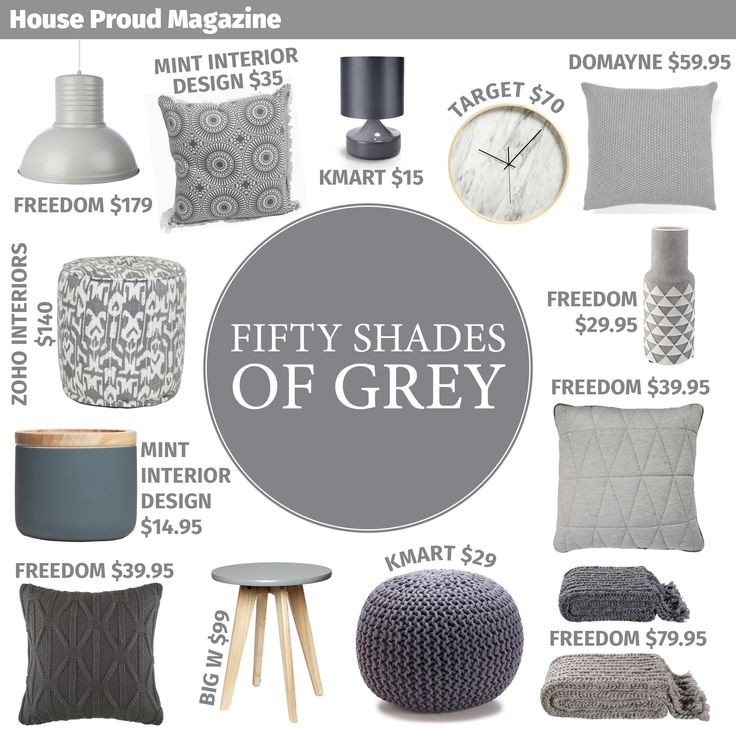 Love #50ShadesOfGrey ? Check out our inspired home decor mood board at House Proud Magazine