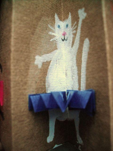 DIY Ballet Cat Card For Kids