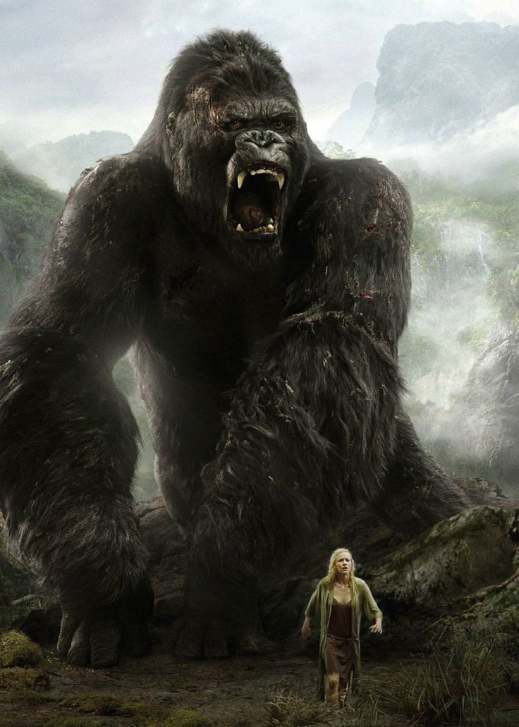 King Kong (2005) - Naomi Watts, Jack Black, Adrien Brody, Colin Hanks, Jamie Bell and Andy Serkis
