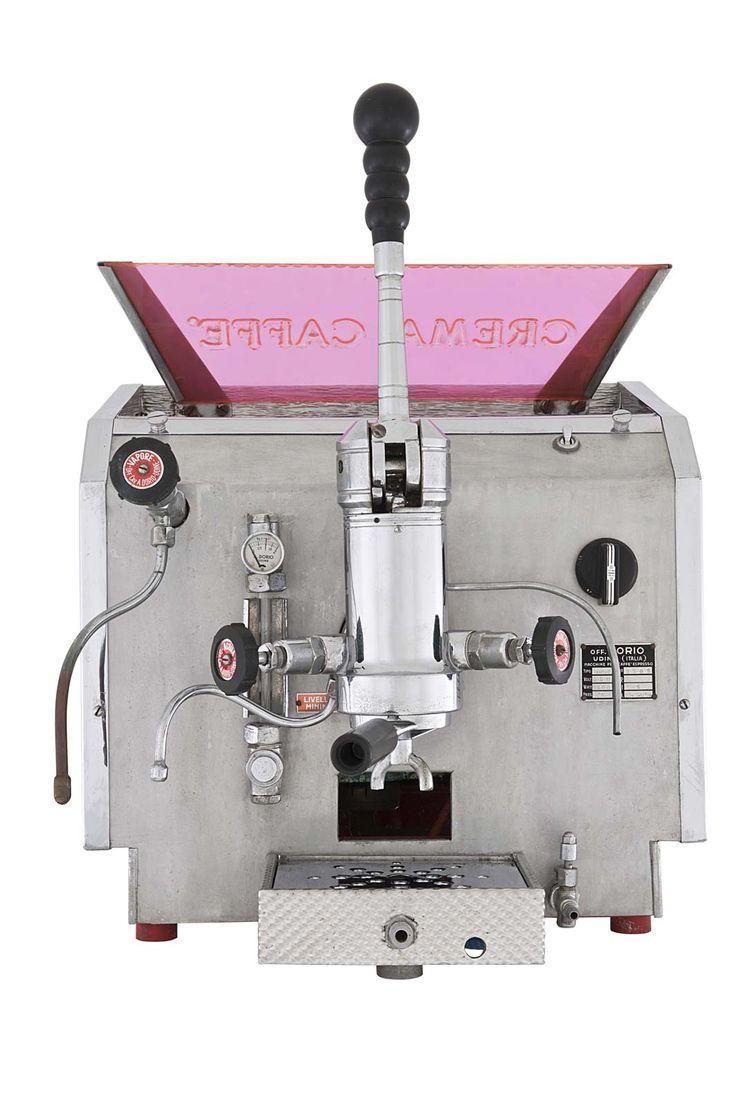 Dorio - 1955 one group Airone model, Udine | Enrico Maltoni's Collection | Espresso Made In Italy