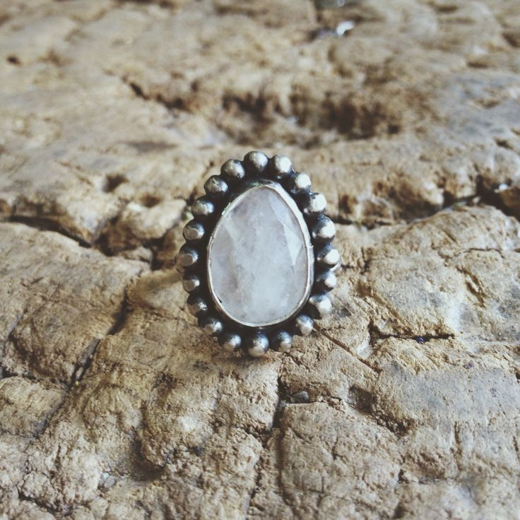 Moonstone and silver - kanti Jewelry