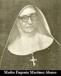 Cuarta Superiora General, Madre Eugenia Martīnez Alonso
