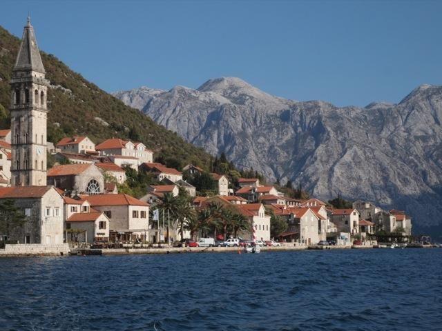 Les bouches de Kotor, Montenegro
