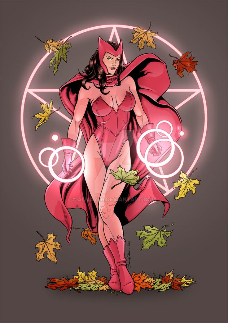 The Scarlet Witch - Marvel Comics - Avengers - Wanda Maximoff