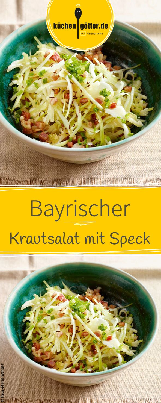 Herzhafter Salat? Mit unserem Rezept für bayrischen Krautsalat mit Speck zaubert ihr schnell und einfach einen klassischen Salat der besonderen Art!