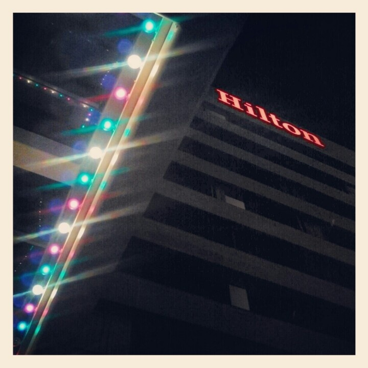 Christmas at Hilton Greenville Hotel & Towers (SC) (photo: Elijah Brantley)