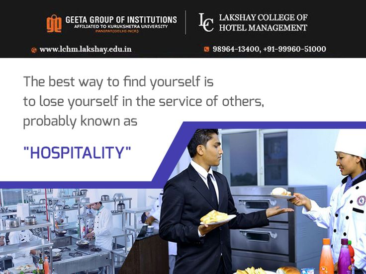 strive to become an hotel manager join visit wwwin or contact us at