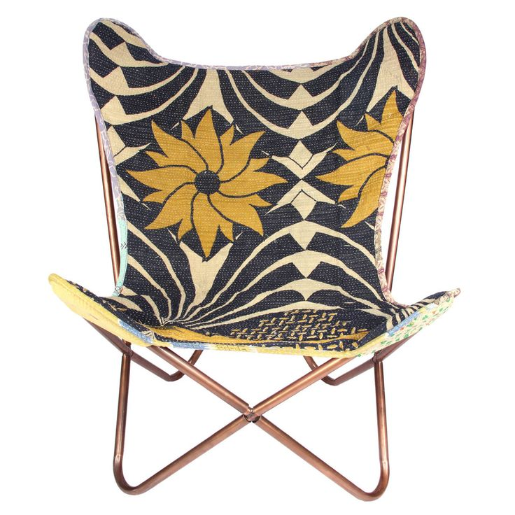 Karma Living | Kantha Butterfly Chair
