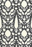 Wallcovering / Wallpaper | Chenonceau in Charcoal | Schumacher - eclectic - wallpaper - F. Schumacher & Co.