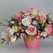 Магазин мастера Евгения Богданова (krasota-v-dome): интерьерные композиции, картины цветов, животные, искусственные растения, свадебные цветы