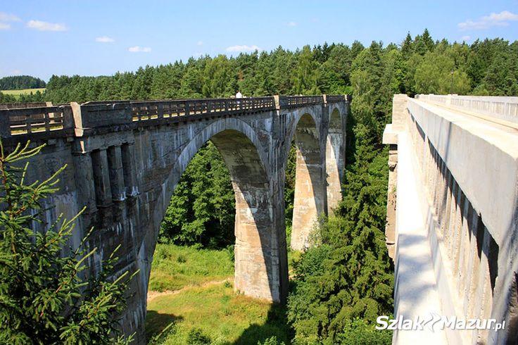 Monumentalne mosty kolejowe w Stańczykach