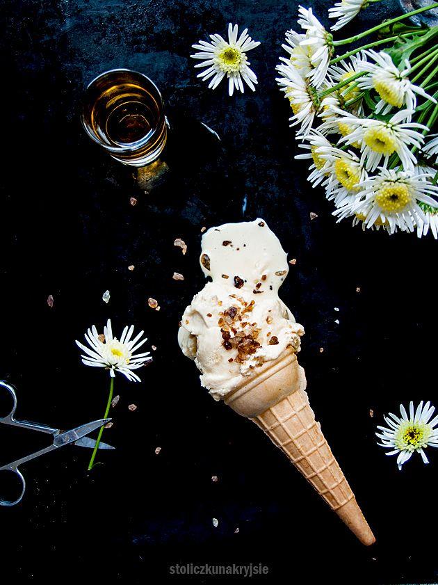 Whisky ice cream
