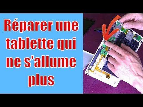Réparer une tablette qui ne charge plus Tablette