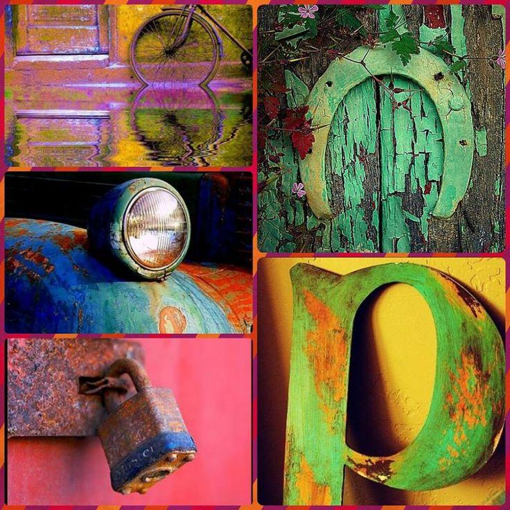 Culori in patina timpului... #vintage #cars #moodboard